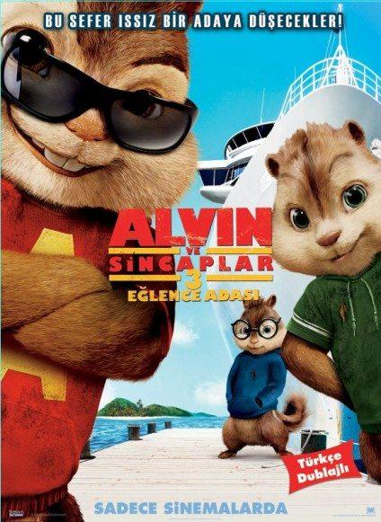 Alvin ve Sincaplar 3 Eğlence Adası (2011)