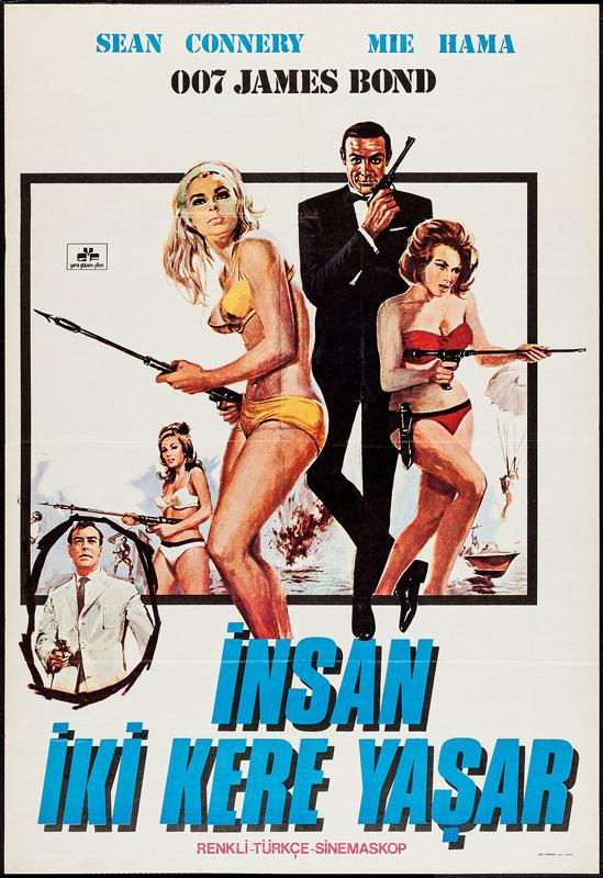 James Bond İnsan İki Kere Yaşar (1967) Türkçe Dublaj izle