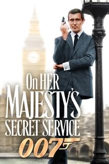James Bond Majestelerinin Gizli Servisinde (1969) Türkçe Dublaj izle